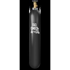 Баллон для сварочной смеси Ar/CO2  10 л.