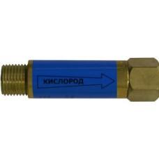 Клапан огнепреградитедьный кислородный на горелку/резак М16х1,5