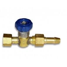 Вентиль кислорода (К) 3/8 к РМ 345П Донмет/943.000.04