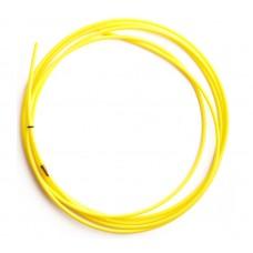 Направляющий канал тефлоновый 1,2- 1,6 (4 метра желтый)