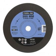 Круг отрезной по металлу Ferrline 355х3,2х25,4 Expert