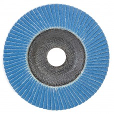 Круг лепестковый торцевой Hender 125х22 P60
