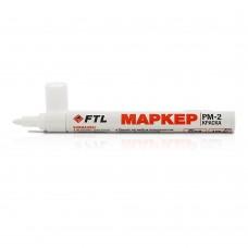 Маркер-краска Foxweld FTL PM-2 4мм белый