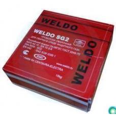 Проволока СВ08Г2С Weldo д.0,8мм (катушка 5 кг.)